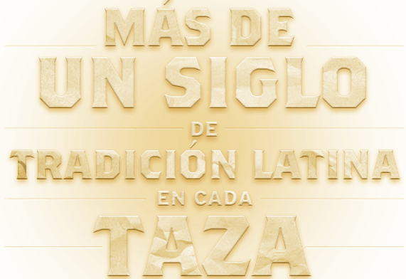 Over a century of Latin tradition in every taza